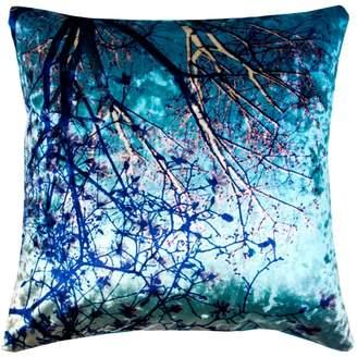"Madura Crystal Tree Decorative Pillow Cover, 16"" x 16"""