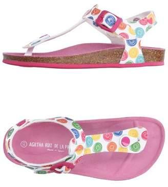 Agatha Ruiz De La Prada Toe post sandal