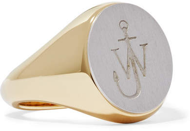 JW Anderson Gold-plated And Silver-tone Ring