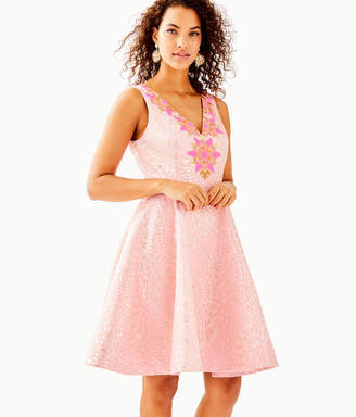 Lilly Pulitzer Elanie Fit And Flare Dress