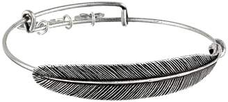 Alex and Ani Quill Feather Bangle Bracelet
