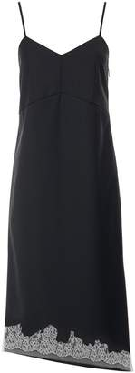 Tibi Lou Lou Applique Bias Dress