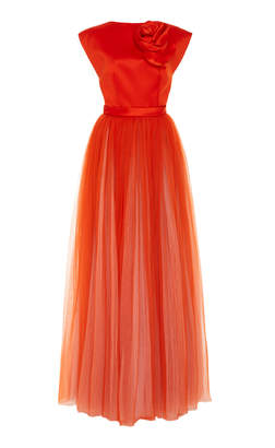 Viktor & Rolf Couture Rose Plisse Gown