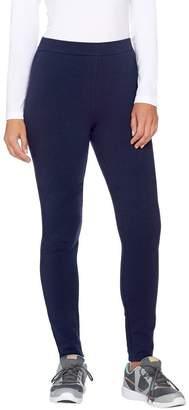 Denim & Co. Active Pull-On Fleece Lined Leggings