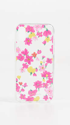 Kate Spade Jeweled Marker Floral iPhone XS / X Case