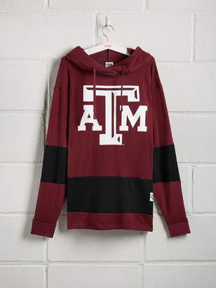 PINK Texas A&M University Colorblock Crossover Tunic