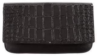 Judith Leiber Crystal-Embellished Nappa Accordion Bag