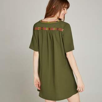 7981a48bd9 Embroidered Tunic Dress - ShopStyle UK