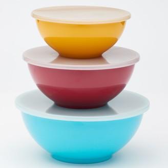 Food Network 3-pc. Nesting Melamine Mixing Bowl Set