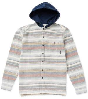 Billabong Big Boys Hooded Flannel Baja Shirt