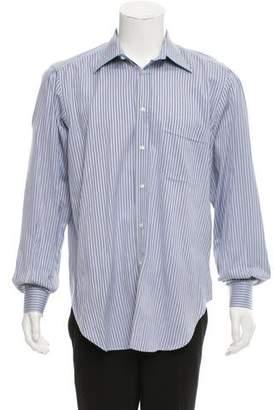 Luciano Barbera Stripe Dress Shirt