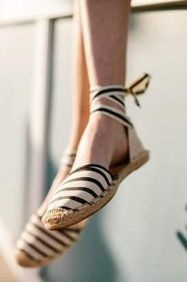 Soludos Classic Canvas Stripe Espadrille Sandal