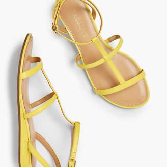 Talbots Daisy Gladiator Micro-Wedge Sandals - Nappa Leather