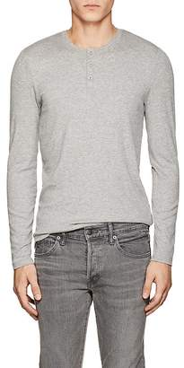 ATM Anthony Thomas Melillo Men's Rib-Knit Modal Henley