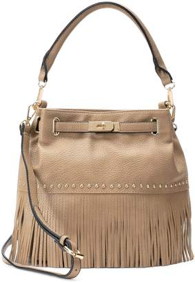 Mellow World Lorraine Fringe Bucket Bag