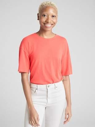 Gap Crop Short Sleeve Crewneck T-Shirt