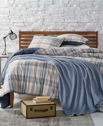 Lauren Ralph Lauren Sundeck Plaid Yarn-Dyed Reversible Twin Down Alternative Comforter