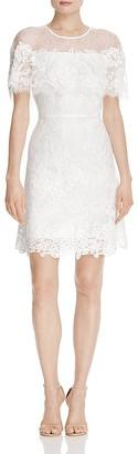 Kobi Halperin Vivi Lace Overlay Dress $698 thestylecure.com