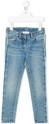 Stella McCartney frayed skinny jeans