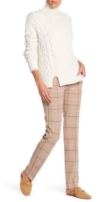 Amanda & Chelsea Windowpane Narrow Leg Trousers