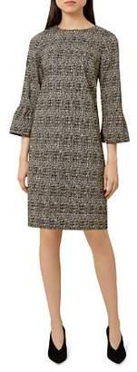 Hobbs London Shelby Glen Plaid Shift Dress