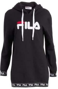 Fila Karena Logo Fleece Hoodie