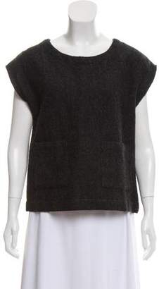 Steven Alan Wool-Blend Oversize Top