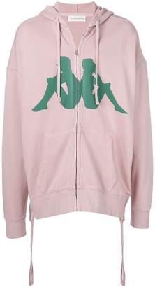 Faith Connexion logo print hoodie