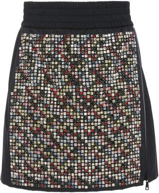 N°21 Zip Detail Mini Skirt