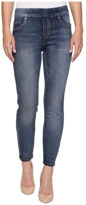 Tribal Pull-On Knit Denim 28 Ankle Jegging in Medium Wash Women's Jeans