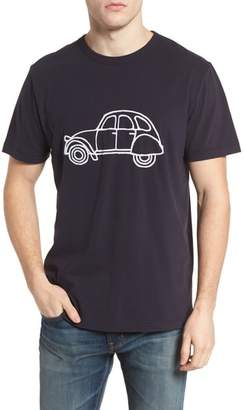 French Connection Car Slim Fit Crewneck T-Shirt