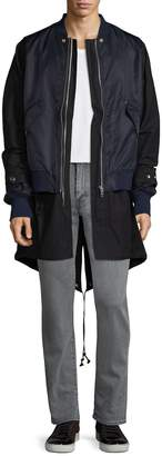 Diesel Men's Bigbombed Cotton Overcoat