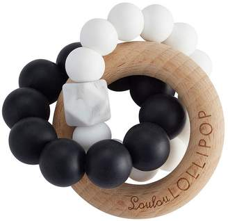 Pottery Barn Kids LouLou Lollipop Trintiy Silicone and Wood Teether