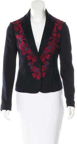 Tory BurchTory Burch Lisanne Embellished Blazer w/ Tags
