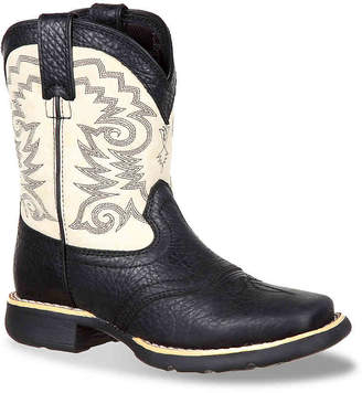 Durango Saddle Toddler & Youth Cowboy Boot - Boy's