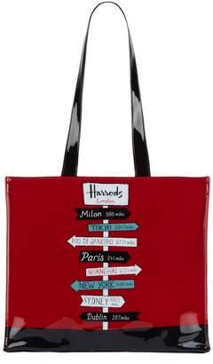Harrods Sign Posts Tote Bag