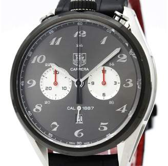 Tag Heuer Carrera CAR2C14 Stainless Steel & Rubber Automatic 45mm Mens Sports Watch