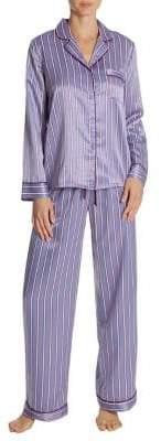 In Bloom Around You Two-Piece Stripe Pyjama Set