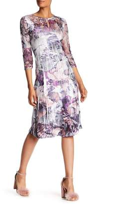 KOMAROV Keyhole Midi Dress $272 thestylecure.com