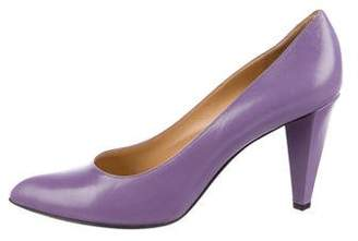 Marc by Marc Jacobs Leather Pointed-Toe Pumps