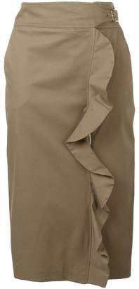 Max Mara high-waisted midi skirt