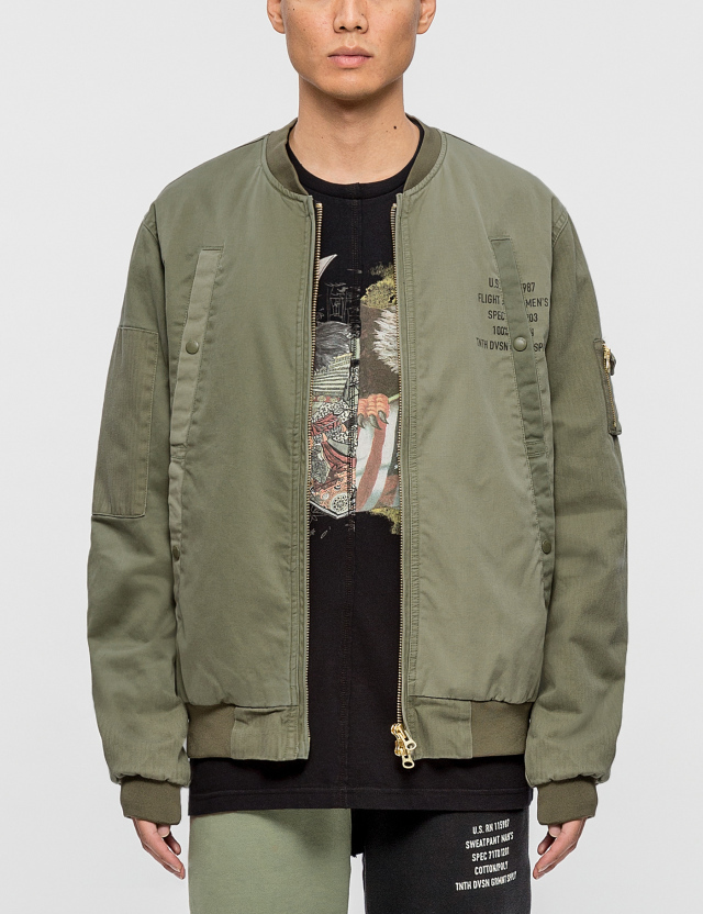 10.Deep 10.Deep Surplus Aviator Jacket