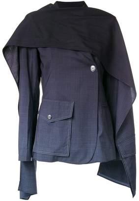 Sonia Rykiel gradient scarf jacket