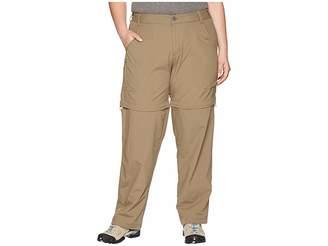 White Sierra Plus Size Sierra Point Convertible Pant