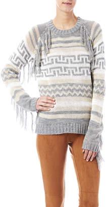Blu Pepper Fringe Aztec Sweater
