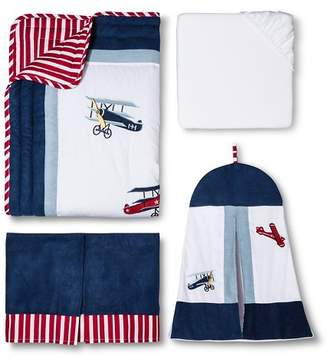 JoJo Designs Sweet Vintage Aviator 11 pc. Crib Bedding Set