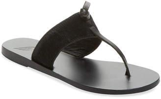 Ancient Greek Sandals Melina Leather Thong Sandal