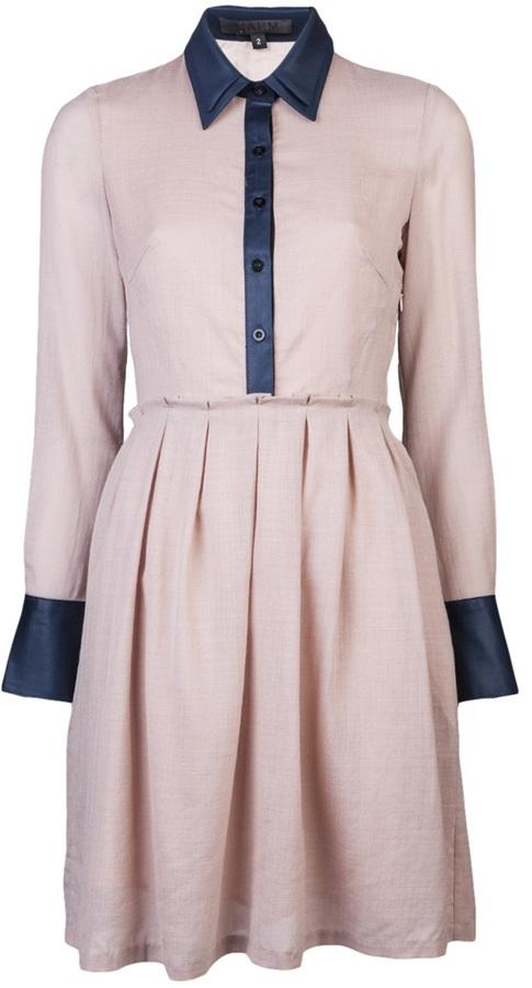 Nahm Perrera collared dress