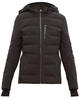 Aztech Mountain Nuke Quilted Ski Jacket - Womens - Black