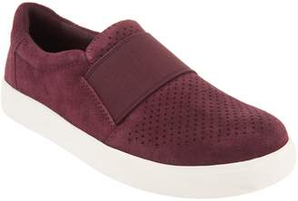 Earth Origins Perforated Leather Slip-On Shoes - Melissa